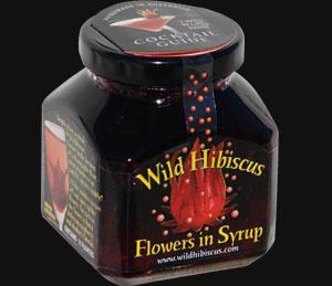 Wild Hibiscus Edible Flowers Bottle Kings Vineyard Market
