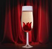 hibiscus glass